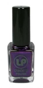 <b>Cracked Nail Polish by Laura Paige - Purple</b>